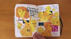 CalArts Sketchbook 2015
