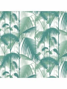 Palm Jungle - Cole and Son #jungle #green #trees #wall #myhomeshopping