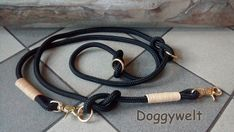 Hundeleine TAU - mehrfach verstellbar von Doggywelt auf Etsy Personalized Items, Bracelets, Etsy, Jewelry, Fashion, Linen Fabric, Schmuck, Moda, Jewlery
