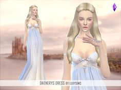 LuxySims: Daenerys Dress [Game of Thrones]