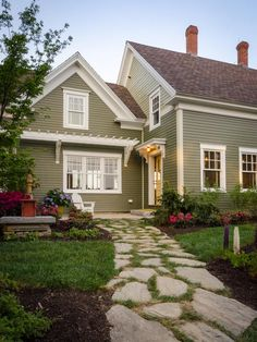 Modern Exterior Paint Colors For Houses Front yards Diy network