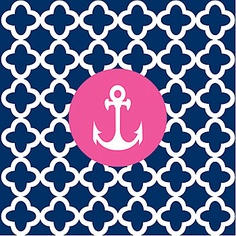 Anchor background! So cute! ⚓