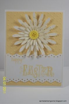 Daisy Easter Card