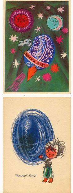 vintage Polish post cards –  Adam Kilian