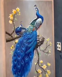 Arts And Crafts Furniture Info: 2836960977 Peacock Wall Art, Peacock Painting, Drawing Of Peacock, Peacock Canvas, Peacock Decor, 3d Painting, Clay Wall Art, Plaster Art, Indian Art Paintings
