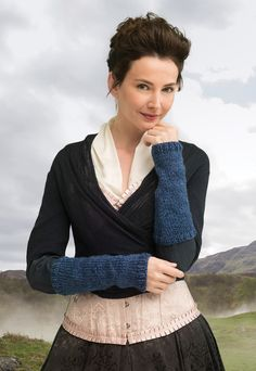 Lion Brand Yarn Outlander Kit -Pursuit Of Craigh Na Dun Arm Warmers (Knit): Each outlander: the series knit or crochet kit includes all the yarn you need for the project, as well as a copy of the pattern. Knitting Kits, Arm Knitting, Knitting Ideas, Outlander Knitting, Outlander Gifts, Outlander Costumes, Knit Or Crochet, Crochet Kits, Crochet Ideas