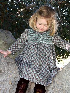 Isabel Garreton - Hand Smocked Print Dress, $106.00 (http://isabelgarreton.com/fall-winter/hand-smocked-print-dress/)