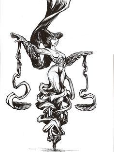 Signe astrologique Balance www.thibault-cdf.com