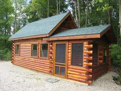 small cabin interiors Aromatic Eastern Red Cedar Cottage Split Level unit was designed as a . Prefab Cabins, Tiny Cabins, Prefab Homes, Log Cabins, Rustic Cabins, Prefab Tiny House Kit, Small House Kits, Tiny Houses, Small Cabin Interiors