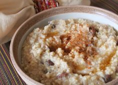 The Healthy Happy Wife: Millet Porridge (Dairy, Gluten and Refined Sugar Free)