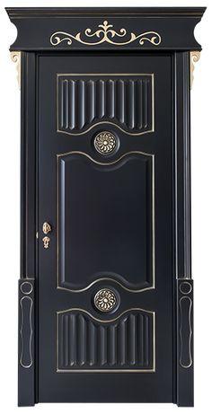 porta  klimt Wooden Main Door Design, Classic Doors, Hani, Klimt, Door Ideas, Decoration, Cabinets, Home Improvement, Woodworking