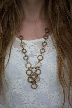 Always Rooney: Hardware Necklace | DIY #diyjewelry