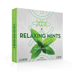 Dixie Relaxing Mints Dixie's Peppermint Relaxing Mints deliver 5mg of CO2 Extracted THC that will ease you into a peaceful state of zen. Each mint contains ingredients such as peppermint oil, ashwagandha, lemon balm and passion flower that support a soothing and relaxing effect.