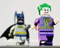 Lego Batman And Joker Photography Print 10x8 Wall by KornflakeStew, £10.00