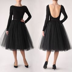 Tulle skirt and blouse by Fanfaronada