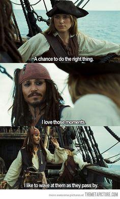funny Captain Jack Sparrow Keira