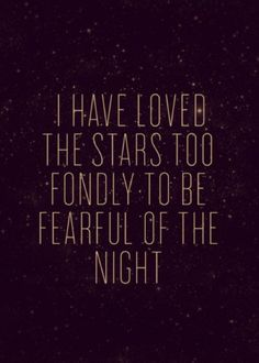 "very relevant to me. the other night my sweet husband took me and our 3 year old out for a walk under the stars...it was good for the soul, and now every night she asks ""lets go look at the stars daddy"" - adorable!"