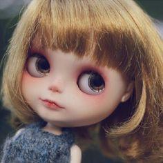 new girl:) #customblythe #blythe - @kirohime- #webstagram