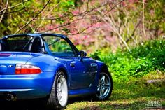 BMW Z3 M Roadster blue