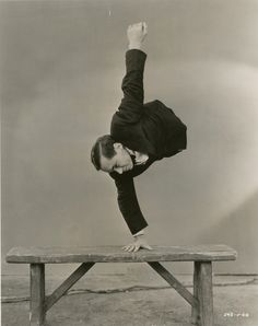 Johnny Eck in the 1932 movie Freaks directed by Tod Browning.