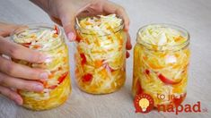 You will stop fermenting cabbage! The most delicious … - Modern Fermented Cabbage, Pickled Cabbage, Russian Dishes, Russian Recipes, My Favorite Food, Favorite Recipes, Borscht Soup, Unique Recipes, Canning Recipes