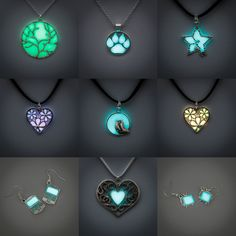 Glow - January 18th - charms by FrozenNote.deviantart.com on @DeviantArt