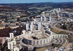Limoges, ZUP de l'Aurence.