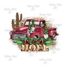 NEW Gnomes Noel Vintage Truck Christmas Sublimation Merry Christmas, Christmas Truck, Christmas Gnome, Christmas Clipart, Christmas Printables, Christmas Crafts, Christmas Graphics, Christmas Items, Amy Butler