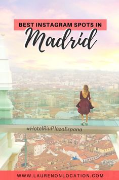 A guide to the best Madrid photo spots. From the super famous Plaza Mayor in Madrid's center to cute cafes and expansive rooftop views. These are the epic photo spots in Madrid, Spain for all your beautiful Instagram shots.   Be sure to read this post for the most Instagrammable places in Madrid.   #MadridPhotos #MadridPhotograph #InstagrammablePlacesinMadrid #MadridInstagramSpots #MadridPhotoLocations #MadridPhotoGuide #MadridSpainPhotography