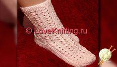 Ажурные носки | Loveknitting.ru Fingerless Gloves, Arm Warmers, Socks, Knitting, Accessories, Fashion, Fingerless Mitts, Moda, Cuffs