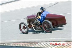 Vintage Revival Montlhery 2015, Cyclecar Schasche 500cc