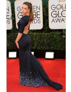 Le look du jour Adele Exarchopoulos en Miu Miu aux Golden Globes