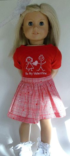 Hey, I found this really awesome Etsy listing at https://www.etsy.com/listing/264445733/red-valentine-tee-shirt-and-skirt-kids