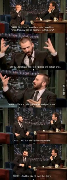 Chris Evans Funniest Moments – 12 photos – Morably