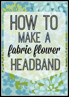How to make a fabric