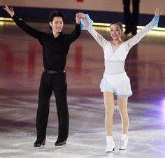 With Mao Asada(JAPAN) : SOCHI OLYMPIC 2014 EX