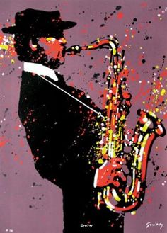 Lester Young Saxophone Sheet Music, Jazz Poster, Jazz Art, Music Illustration, Postcard Design, Dance Art, Portrait Art, Art Day, Insta Art