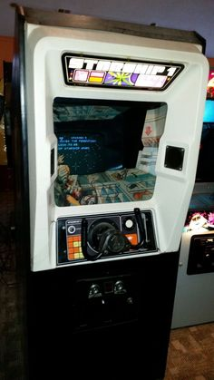 Atari Starship 1 Video Arcade Game