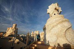 Casa mila roof - Casa Milà – Antoni Gaudi