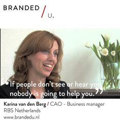 Karina van den Berg / CAO Business manager RBS Netherlands