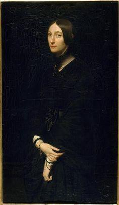 Victor MOTTEZ Portrait of Madame Mottez