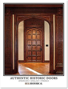 Authentic Historic Doors, a free resource guide from Hull Historical