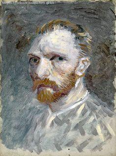 Van Gogh, Self-Portrait, Spring-Summer 1887