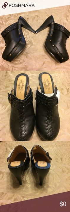 🍁Shoes by Charles Albert🍁 Brand new, never worn shoes by Charles Albert. Size 8 slip on, 5 inch heel with a 1 inch platform, started around the sides in the front of uncle across the front, great-looking pair of shoes Charles Albert Shoes