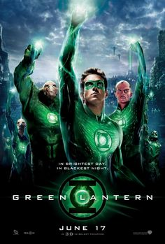 Green Lantern Movie Poster : Teaser Trailer