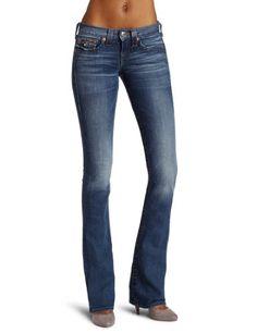 True Religion Women's Becky Petite Bootcut Jean