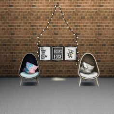 Leo 4 Sims: Cocoon chair • Sims 4 Downloads