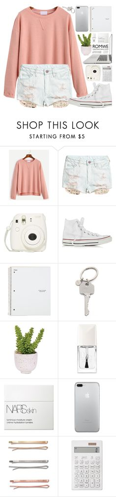 """""""I close my eyes and the flashback starts"""" by alexandra-provenzano ❤ liked on Polyvore featuring Fujifilm, Converse, Paul Smith, Lux-Art Silks, Christian Dior, NARS Cosmetics, Madewell, Muji and Forever 21"""