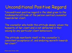 An introduction to Person Centred Therapy - Carl Rogers www.trueselfcounseling.com