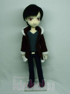 Durarara! is my latest favorite anime. ็His name is Orihara Izaya. He is 14 inches tall. All his body, he can take off only his coat. You can other pics on my blog. >>>